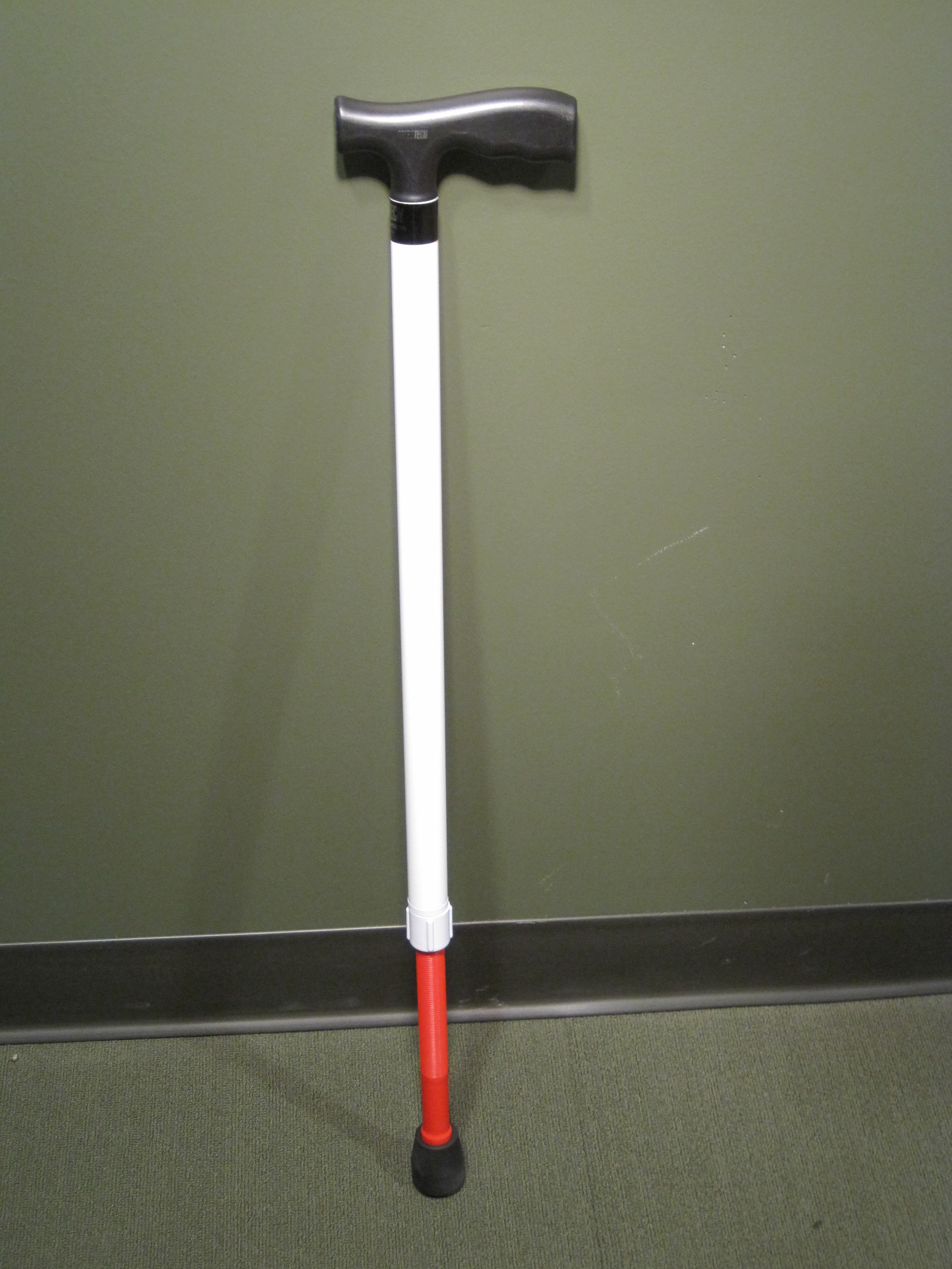 AMBUTECH ADJ SUPPORT CANE T-HANDLE EXTRA LENGTH